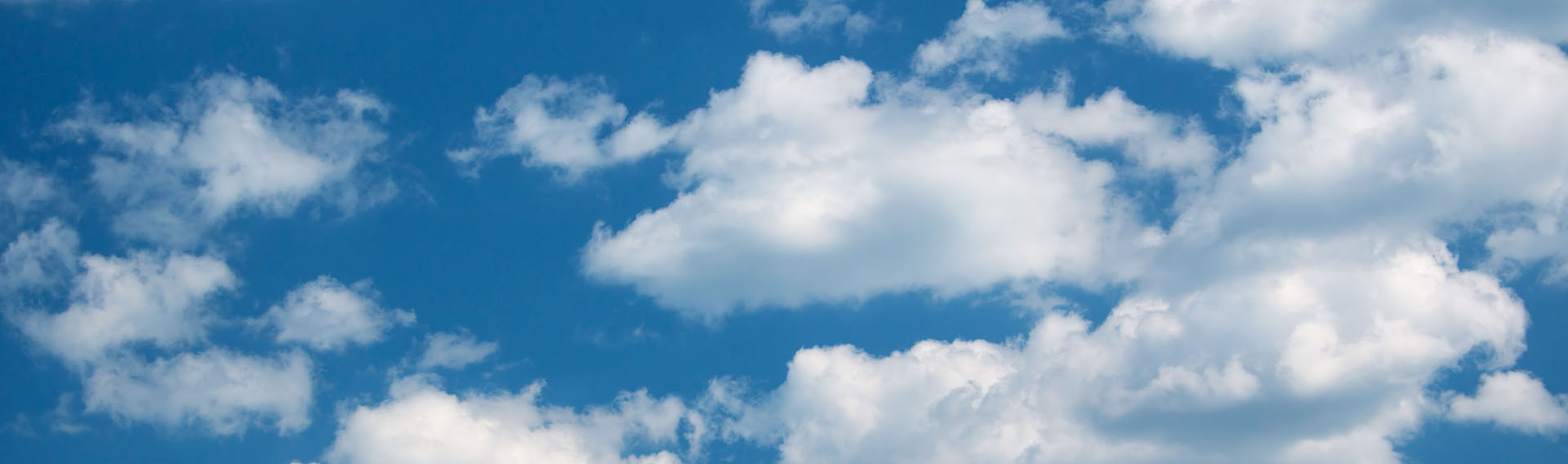 44098467 – white clouds on the blue sky on sunny day